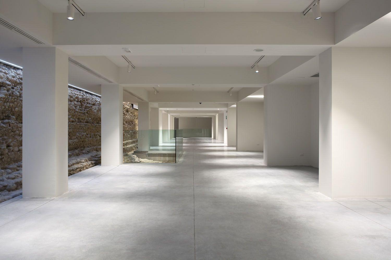 Pavimenti In Cemento Industriale : Pavimenti in cemento industriale nuvolato senza fughe architop