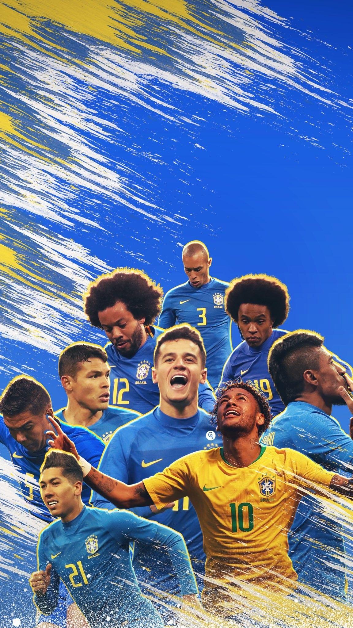 Pin De Leonardo Lemek Em Screenshots Seleção Brasileira De Futebol Seleção Brasileira Selecção Brasileira