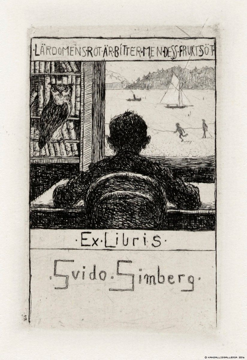 Hugo Simberg, Ex Libris