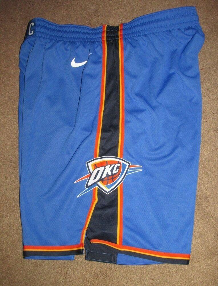 97517decefb Nike Oklahoma City Thunder Icon Swingman Mens Shorts L 38 Signal Blue OKC   Nike