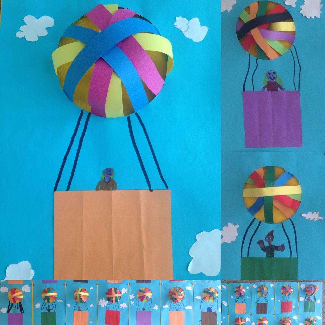 Handvaardigheid Luchtballon Groep 45 Beeldende Vorming Dr