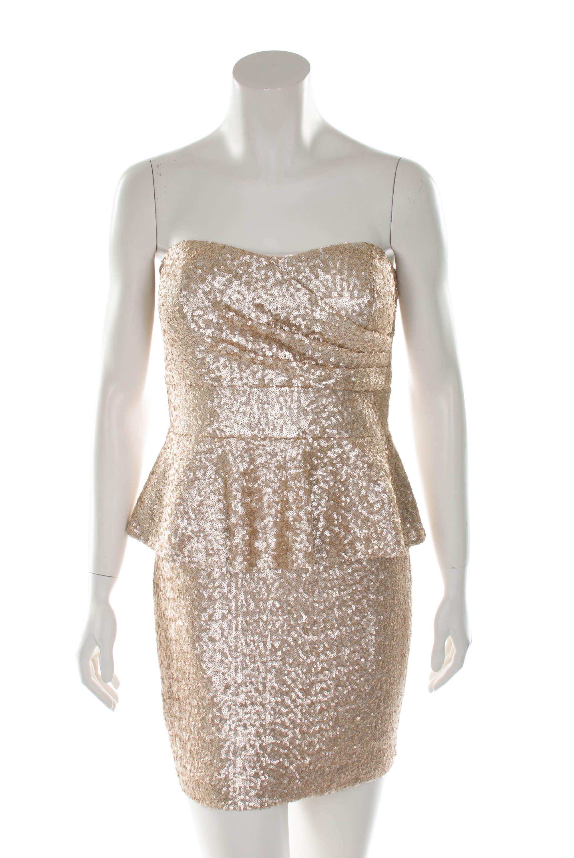 Trägerloses Kleid mit Schößchen von Vera Mont aus der Sweet ...