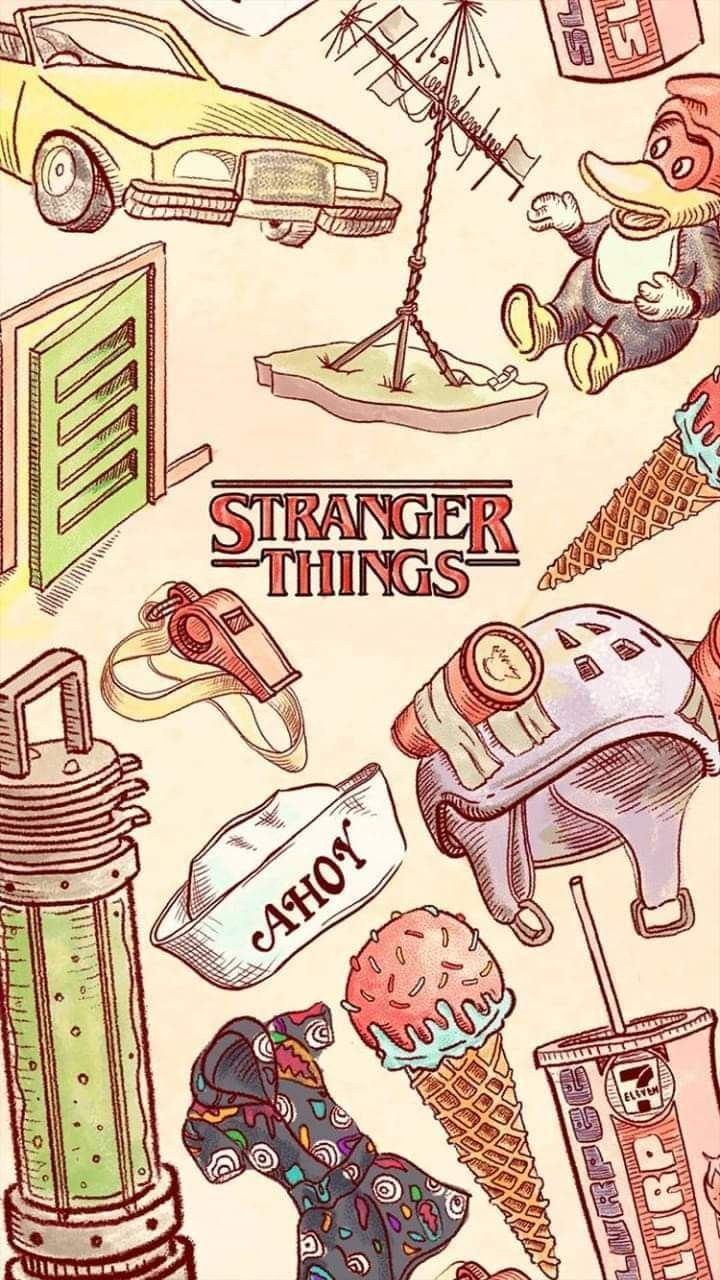 strangerthings netflix Stranger things wallpaper