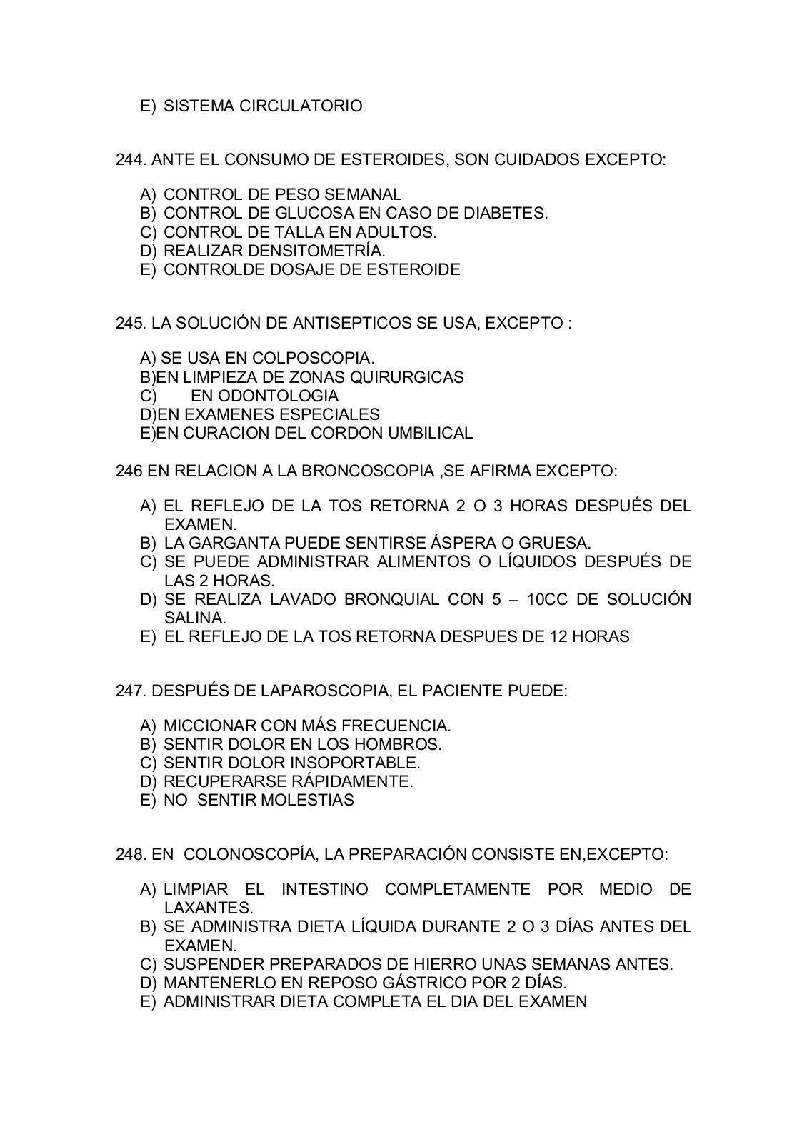 Balotario De Preguntas Para Tecnicos De Enfermeria Yumpu Pdf Downloader