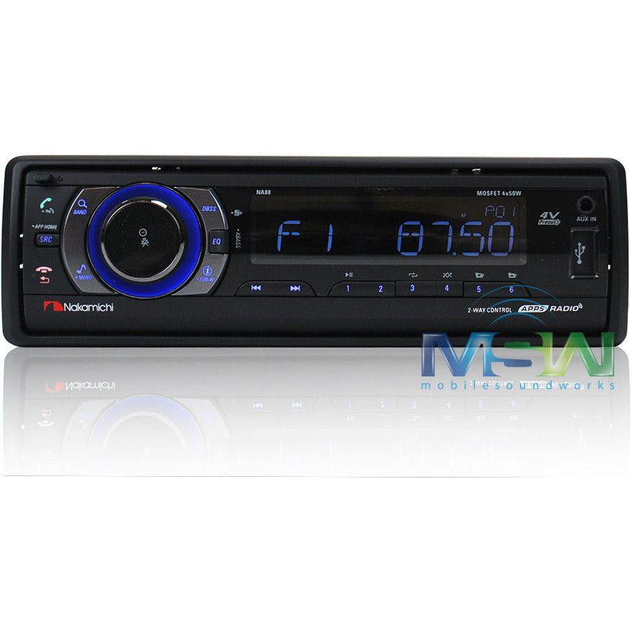 nakamichi car stereo wiring diagram nakamichi new nakamichi na88 usb sd digital media car stereo receiver w on nakamichi car stereo wiring