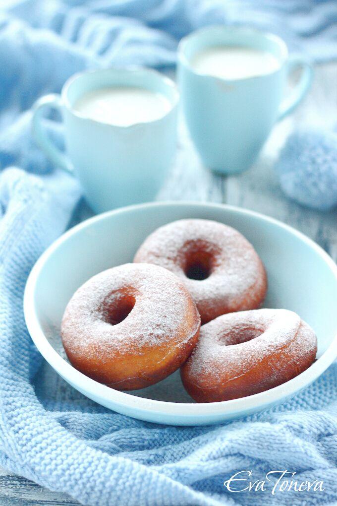 Sweetened Condensed Milk Donuts Makanan Dan Minuman Makanan Minuman