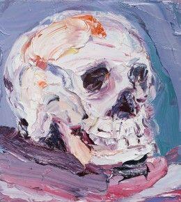 #oilpainting #art #aesthetic #skull #contemporaryart #painting