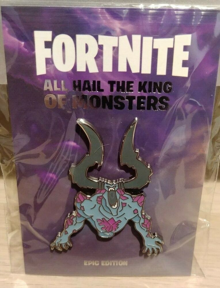 Fortnite STW Storm King Pin Limited Edition Brand New In