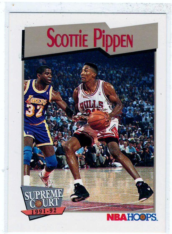 Sports Cards Basketball 1991 NBA Hoops (Supreme Court