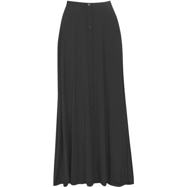 Boohoo Ruby 90's Grunge Style Button Front Maxi Skirt | Boohoo (1.235 RUB) ❤ liked on Polyvore featuring skirts, body con skirt, midi skirt, bodycon maxi skirt, pleated skirt and maxi skirt