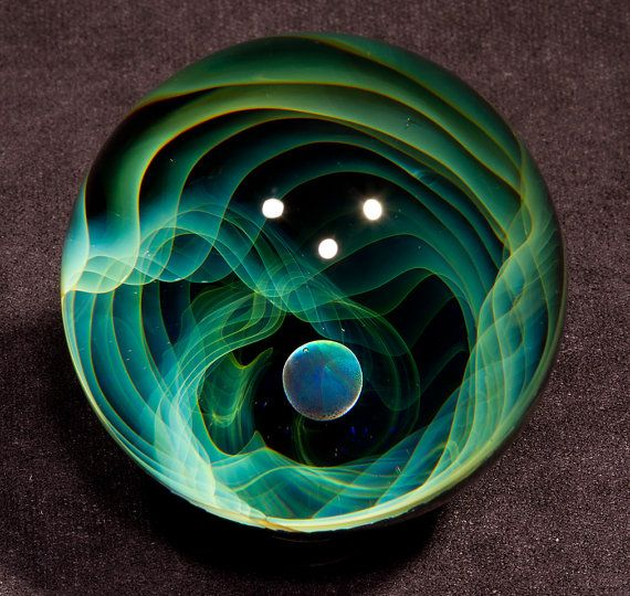 Fumed void with opal borosilicate marble (2.00 inch) 1208 ...