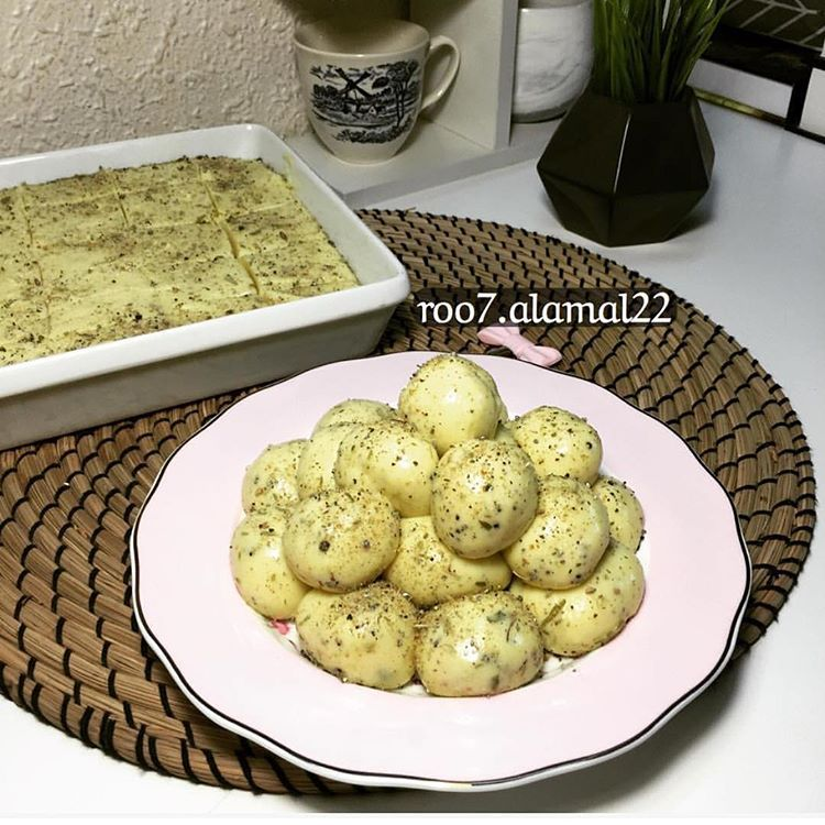اللبنية الحجازية Food Desserts Cookies