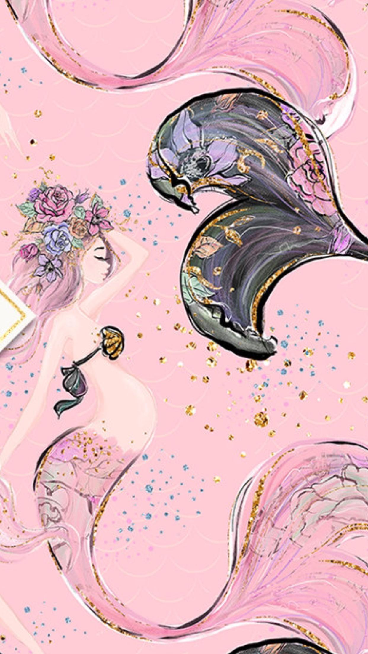 Mermaid | Mermaid art, Mermaid wallpapers, Drawings