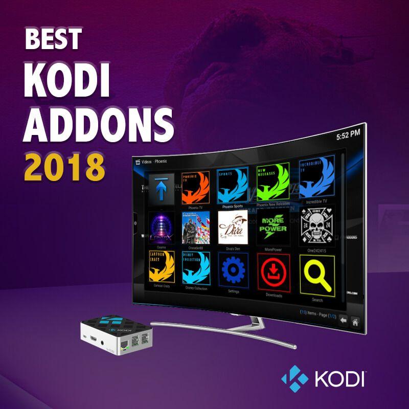 300 Best Kodi Addons That Works Guaranteed October 2021 Kodi Kodi Streaming Android Tutorials