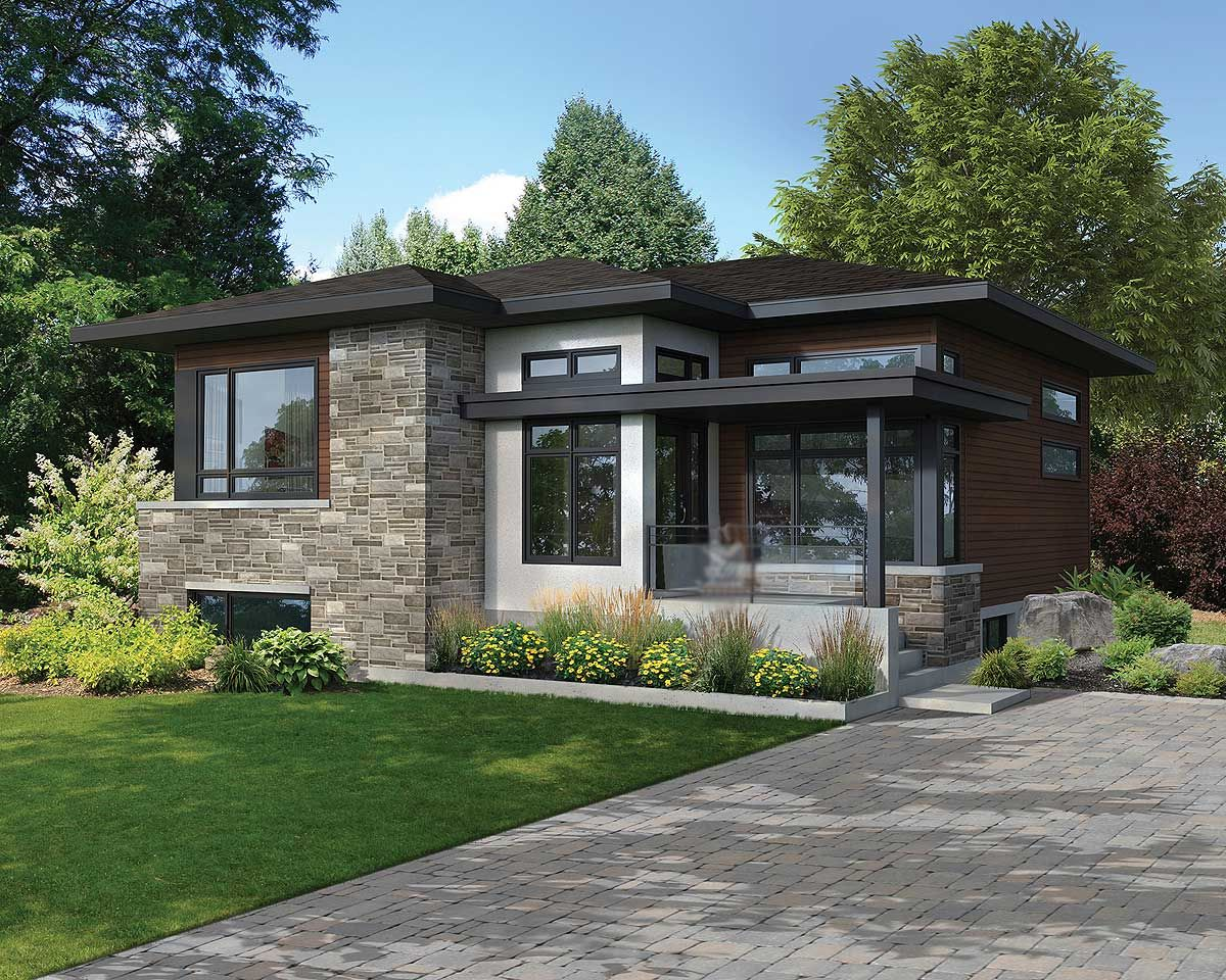 plan 80866pm attractive contemporary house plan contemporary