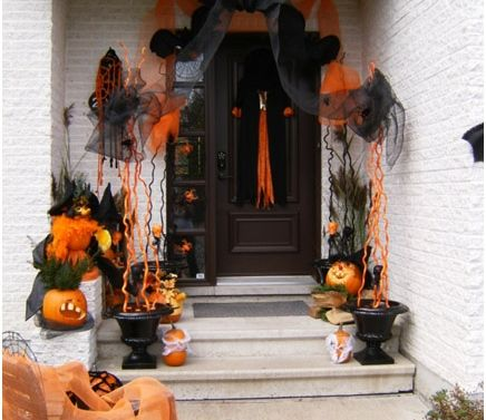 Le d cor ext rieur pour l 39 halloween d coration for Deco exterieur halloween
