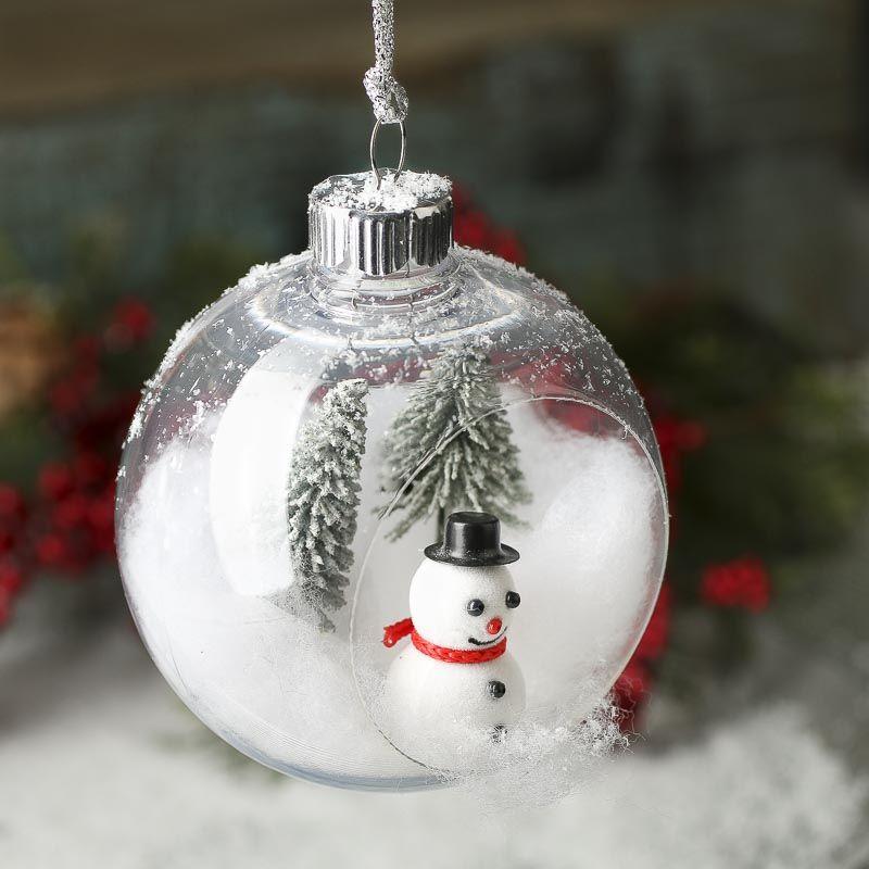 Open Christmas Ball Ornament Christmas Ornaments Christmas And Winter Holiday Crafts Christmas Ball Ornaments Diy Christmas Ornaments Christmas Ornaments To Make