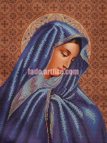 bead embroidery needlework kit DIY Jesus Blessing Children religious picture