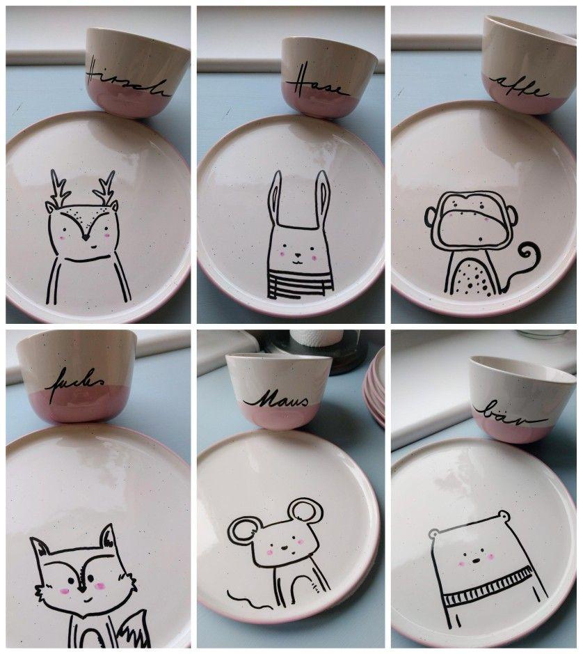 Tassen selber machen #ceramicpainting