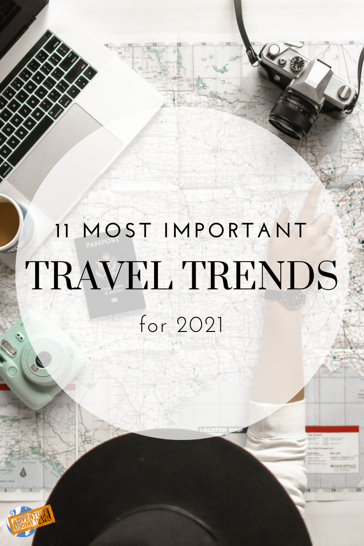 11 Most Important Travel Trends For 2021 In 2020 Travel Trends Travel And Tourism Popular Travel