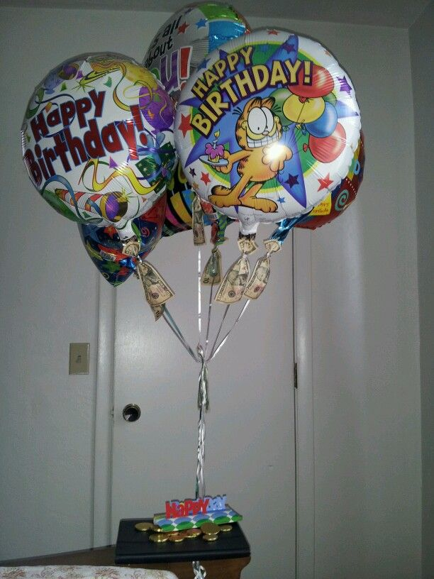 Birthday Balloonsfrom Dollar Tree For Dads 61st