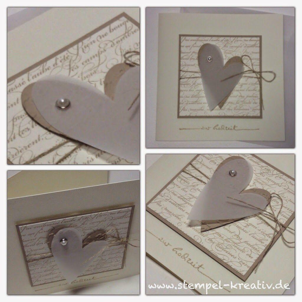 kreativ karten gestalten zur hochzeit hochzeit wedding pinterest karten. Black Bedroom Furniture Sets. Home Design Ideas
