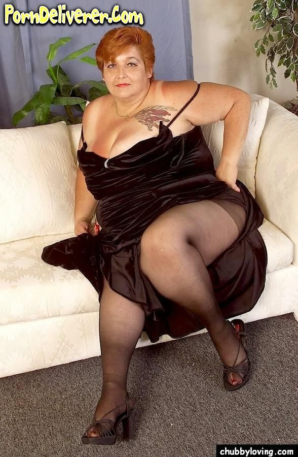 Bbw mature in pantyhose