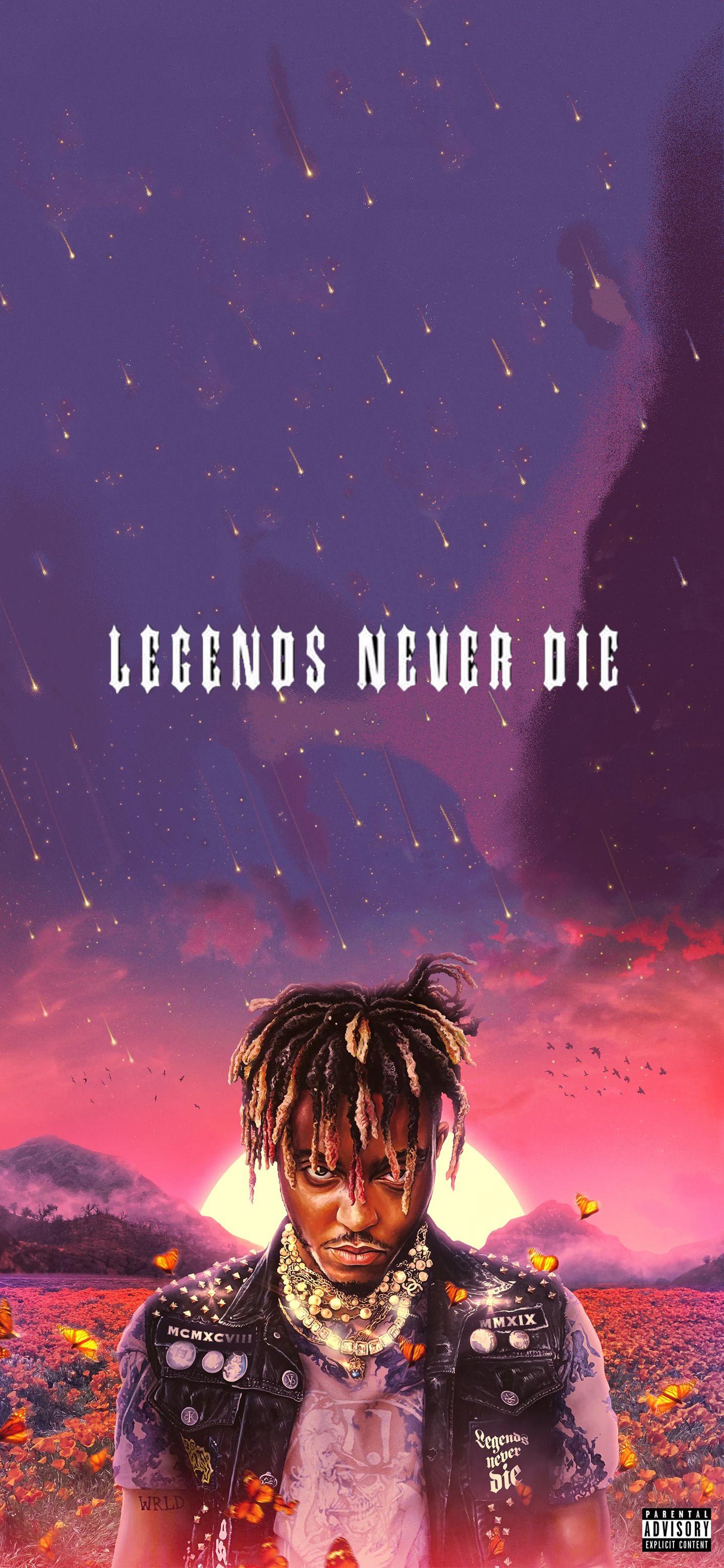 Legends Never Die Wallpaper in 2020 Die wallpaper