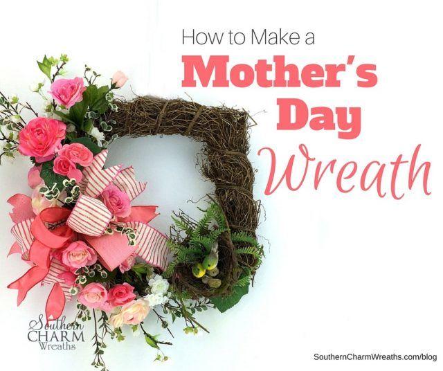 Wie man einen schönen Muttertagskranz macht ...