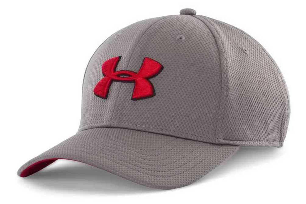 Under Armour Men s UA Blitzing II Stretch Fit Baseball Cap Hat 1254123 34de2c7ebf26