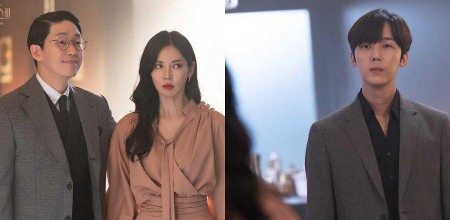 'Penthouse 3' Teaser Features a Strange Reunion Between Kim So Yeon, Uhm Ki Joon and Yoon Jong Hoon