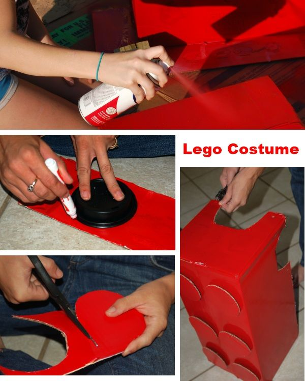 Lego Costume Tutorial- fun dress up all year long! Great for a Lego themed birthday party. & DIY LEGO COSTUME | Lego costume Costume tutorial and Themed ...