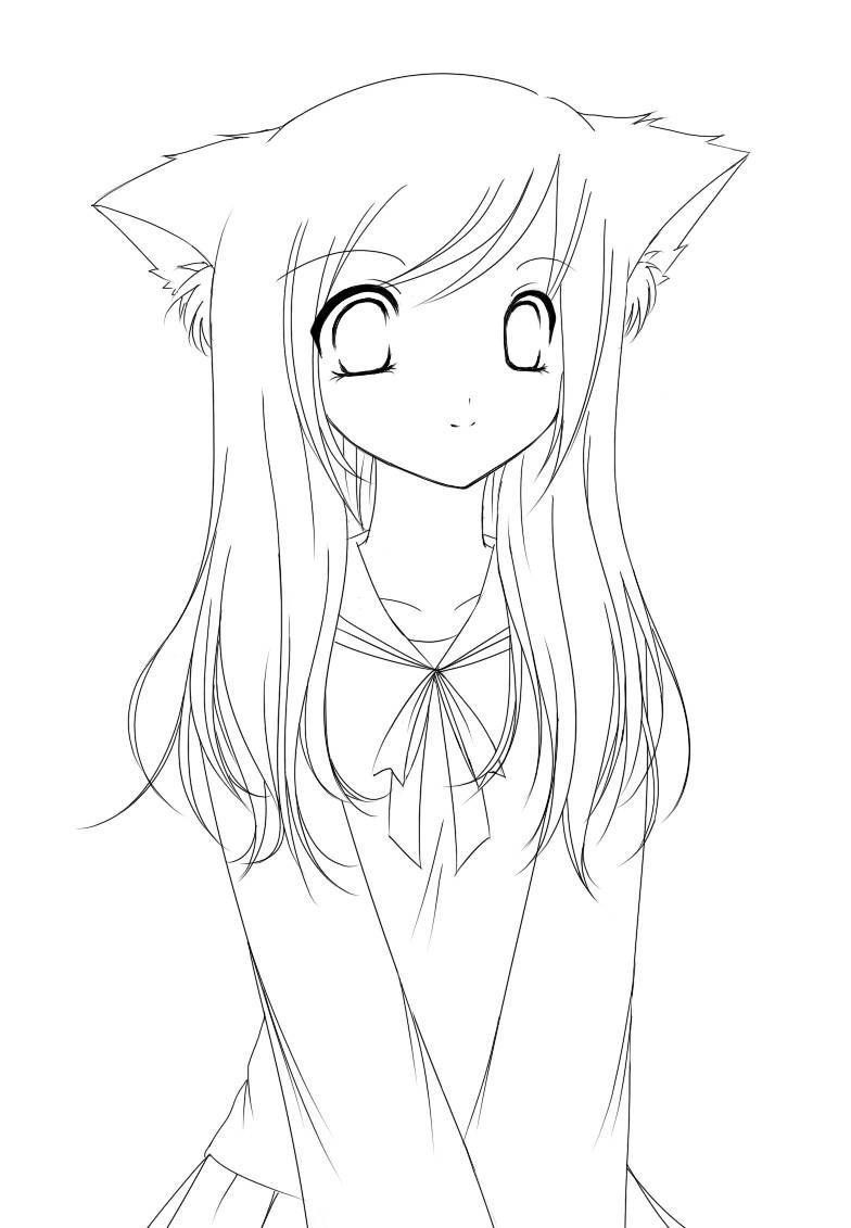 Cute Anime Coloring Pages Awesome Fresh Anime Bff Coloring Pages Trasporti In 2020 Cute Coloring Pages Easy Cartoon Drawings Cartoon Girl Drawing