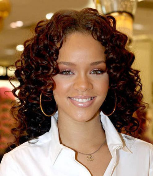 Hairstyles For Black Permed Hair Medium Length : Black spiral perm hairstyle from: http: www.hairstyles123.com