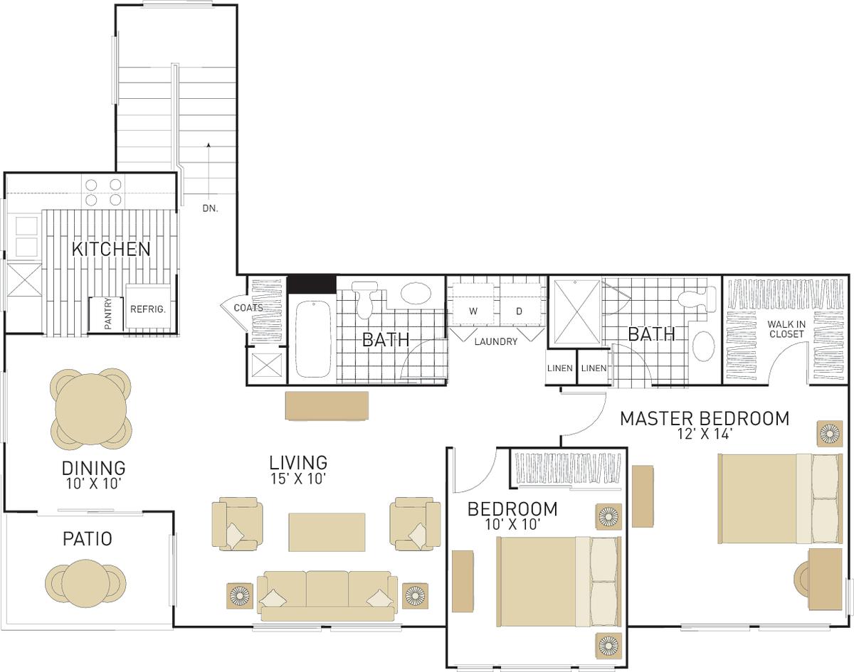 Rancho Santa Fe Apartments In Tustin Ca Irvine Company Apartment Bedroom Studio Apartment Communities