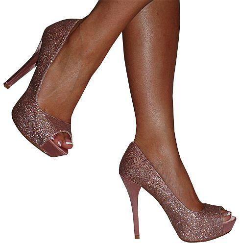 Heels, Great Glam, 5 Inch Heels