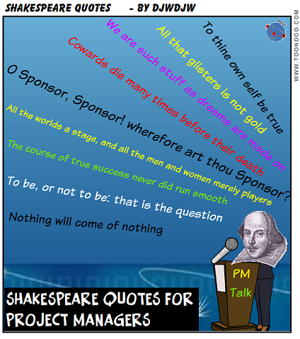 Shakespeare Knew A Bit About Project Management And Many Of His