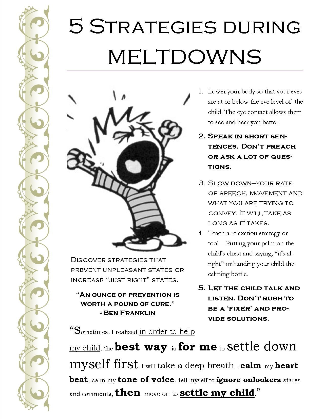 12 Strategies That Work For Me During Our Kid S Meltdowns