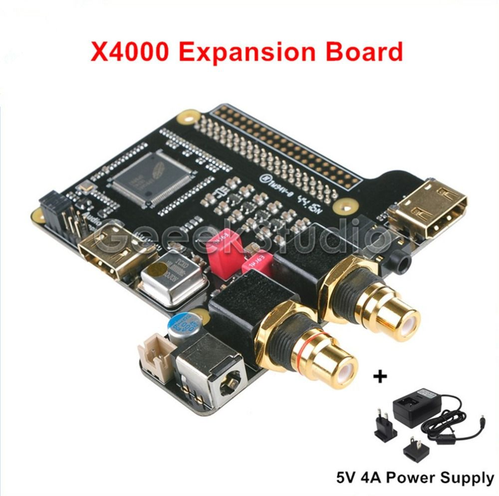 New Arrival X4000 Expansion Board for Raspberry Pi 1 Model B+  2 Model B   3  Model B With Power Supply bbb9c0b22e0c
