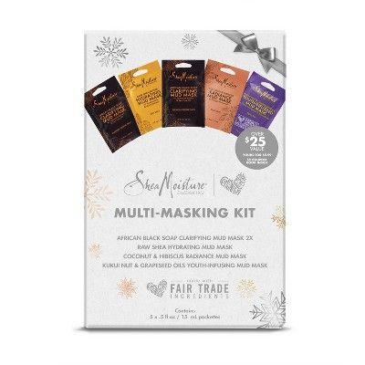 SheaMoisture Multi Masking Facial Treatment Kit - .5 fl oz   Target ... 0d87ed00a