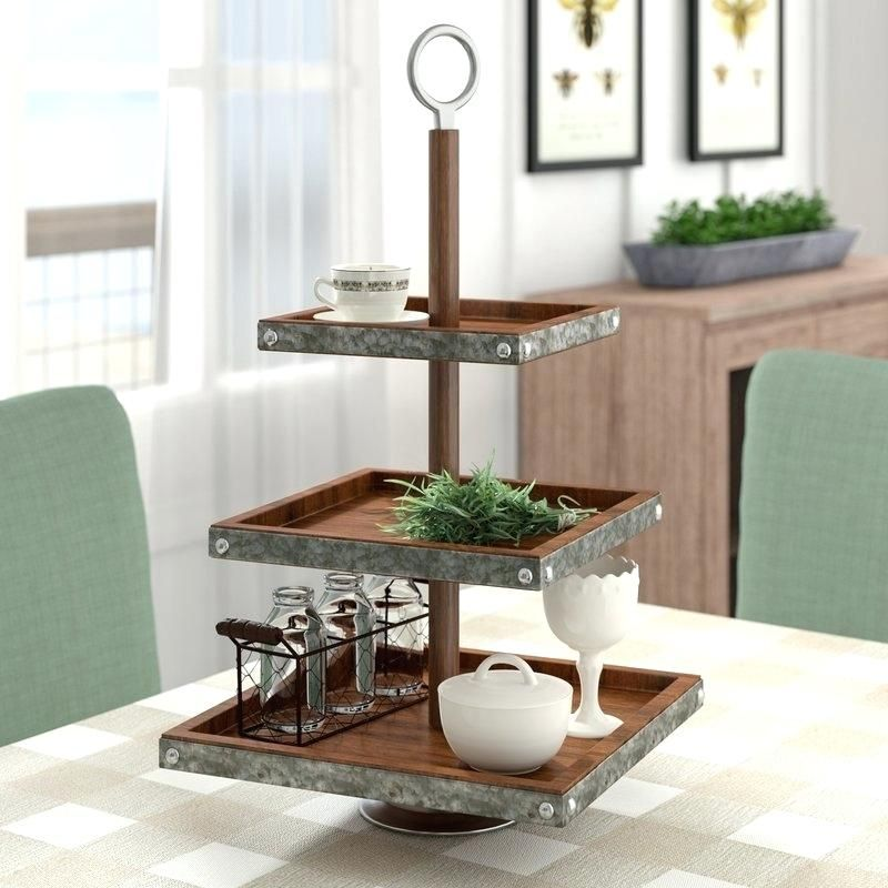Image result for galvanized tier stand diy Tiered stand