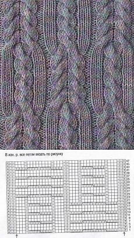 Pin de María Inés en Punto de dos agujas   Pinterest   Dos agujas ...