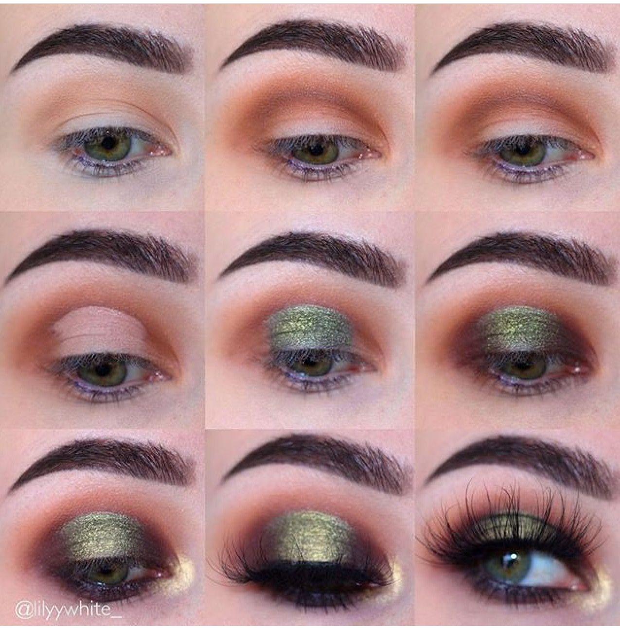 Green halo Artistry makeup, Green makeup, Makeup for