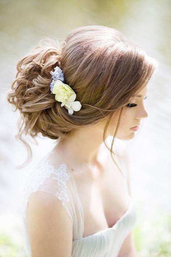 Espectacular novias 2021 peinados Galería De Tutoriales De Color De Pelo - 101 Peinados de Novia 2017 - De Peinados   Peinados de ...