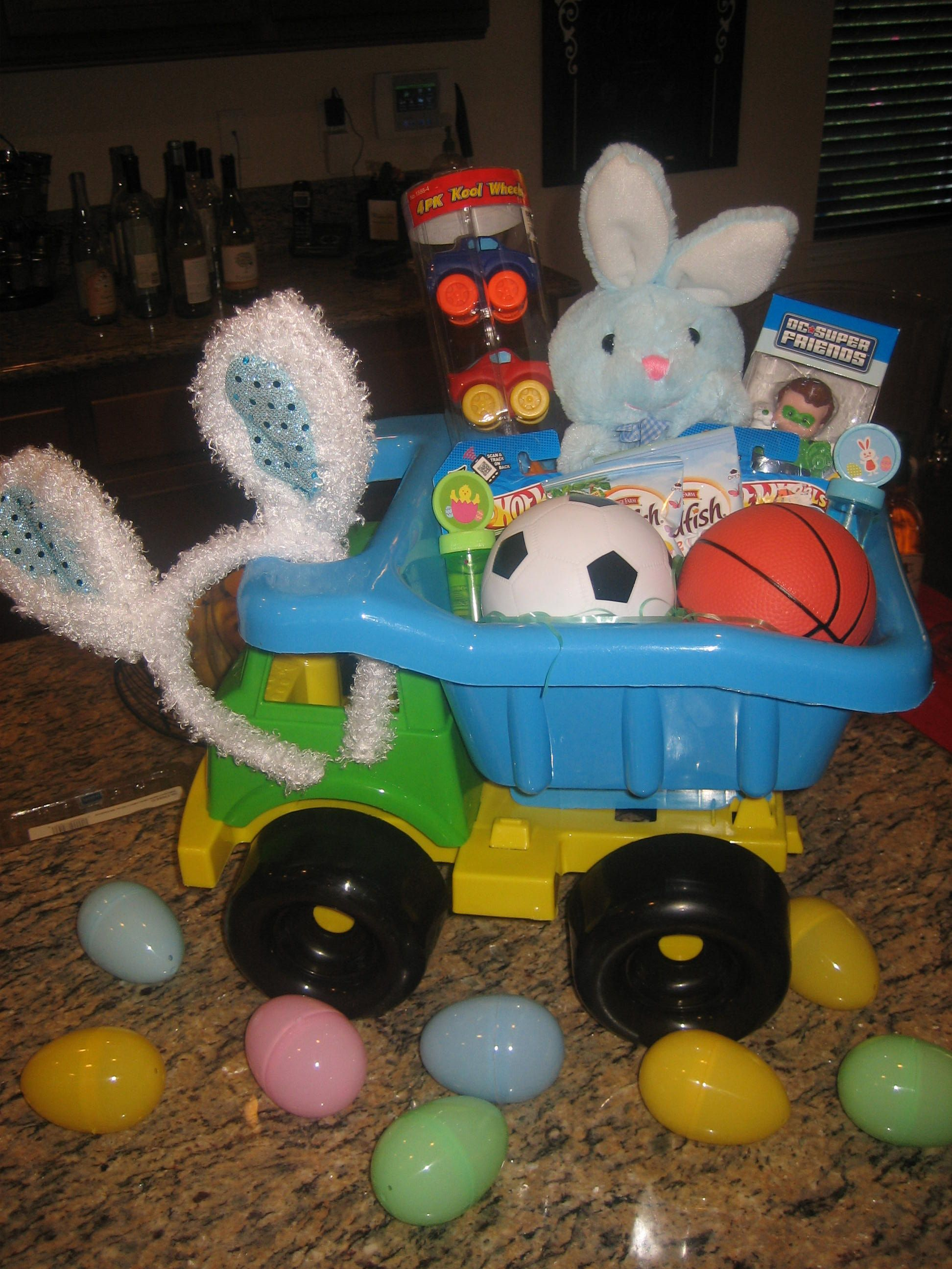 Cute easter basket for baby boy fill eggs with animal crackers cute easter basket for baby boy fill eggs with animal crackers packs of raisins negle Image collections