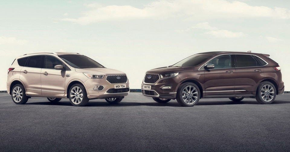 Upmarket Ford Kuga Edge Vignale Suvs Now Available For Order In Europe