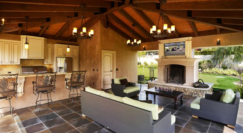 California Living Outdoor Kitchen And Cabana Outdoor Kitchen Design Modern Outdoor Kitchen Building A New Home