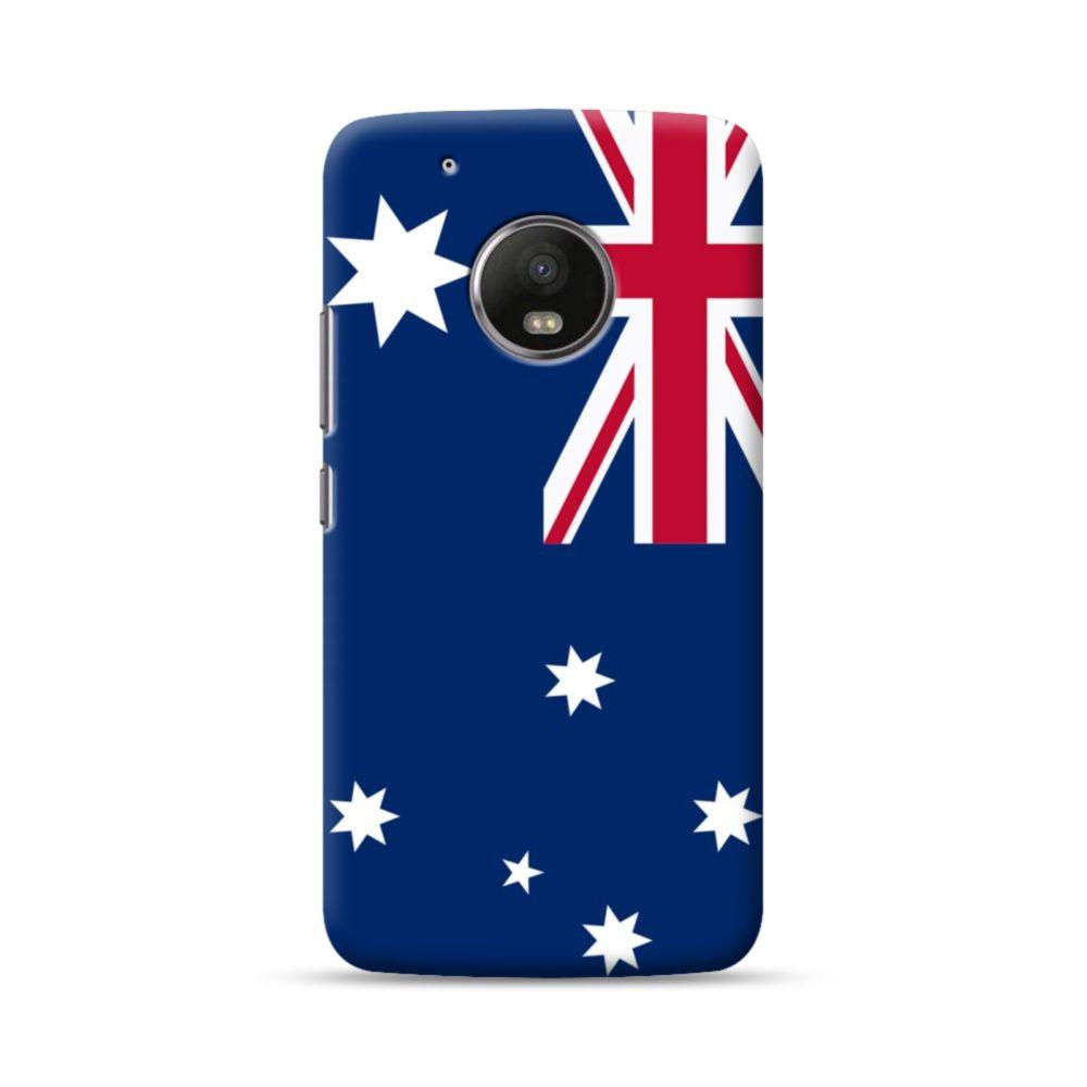 Flag of australia moto g5 case case australia flag