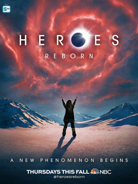 Heroes Reborn - New Poster