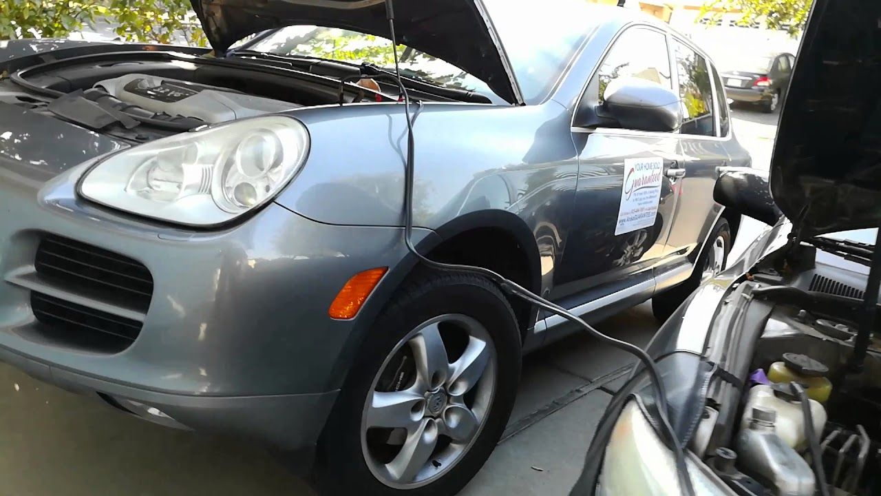 How To Jump Start 2004 2005 2006 2008 Porsche And Battery Location